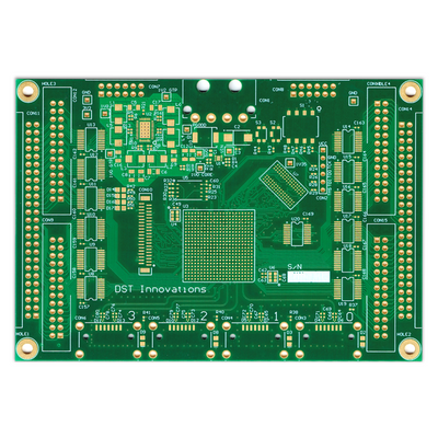Printed circuit board factory manufacturing Industrial control PCB with meticulous T/S 3/3mil