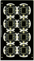 Professional brown security pcb manufacturer
